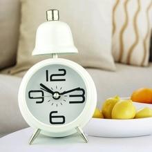 2017 Popular Arriva New Table Alarm Clock Modern Design Desk Clock Quartz Despertador Reloj Madera for Children Room