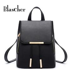 Blascher Новый Модный женский Рюкзаки Высокое качество для отдыха в Корейском стиле леди сумки элегантный дизайн школьные рюкзаки SCC16