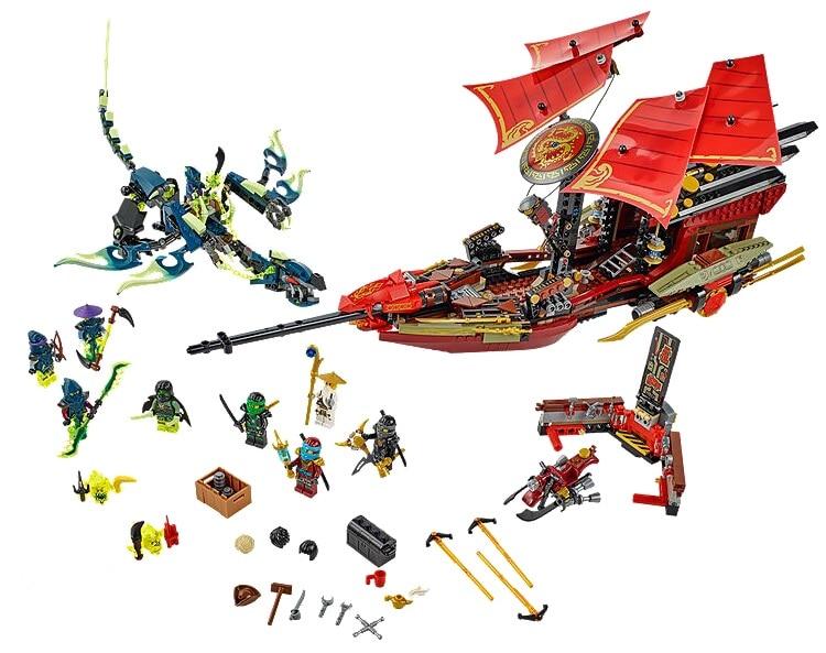 jouet chine marque 020 auto verrouillage briques compatible avec lego ninjago 70738 dernier vol de