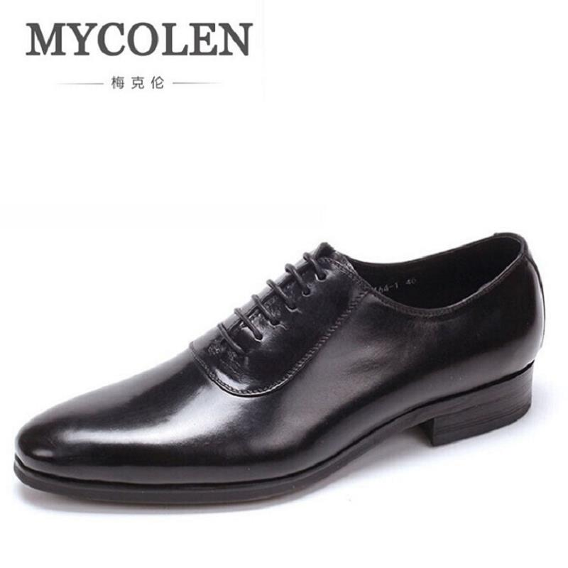 MYCOLEN Luxury Designer Men Patent Leather Dress Shoes Wedding Brand Male Oxford Shoes Rubber Elevator Shoes Men herenschoenen