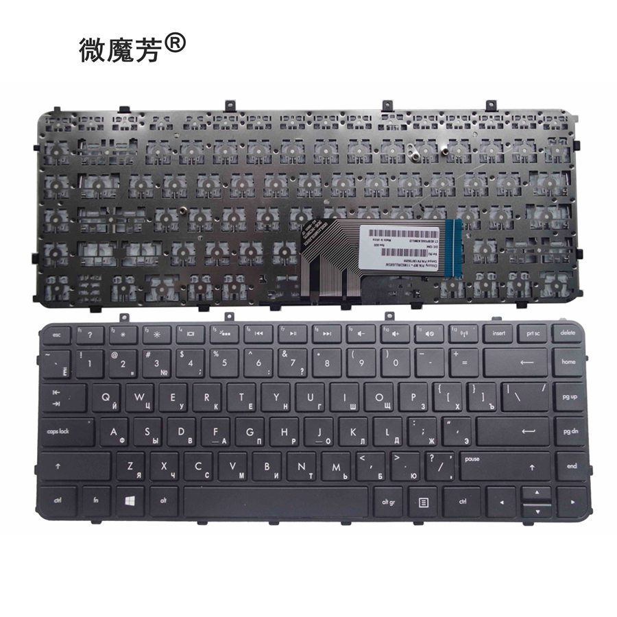 Russia Keyboard FOR HP Envy 4 6 4-1000 4-1100 4-1200 6 6-1000 6-1100 6-1200 Envy 4-1030us 4-1130US 4-1115DX M4 M4-1000 RU