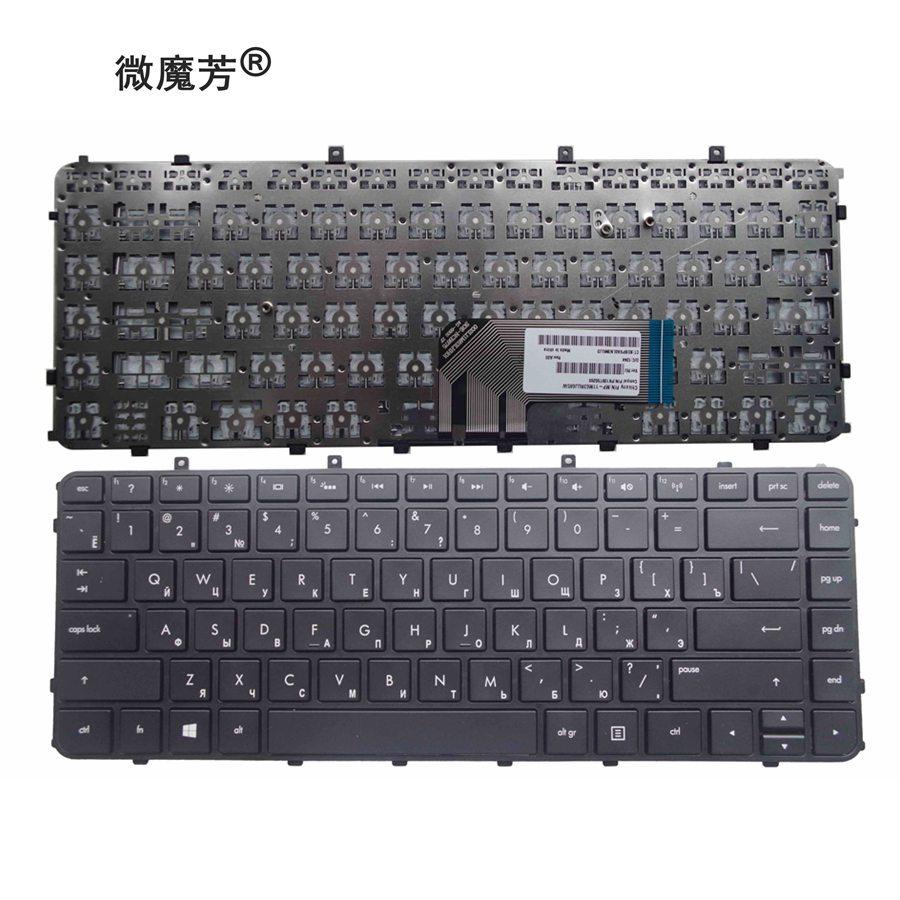 Rússia teclado PARA HP Envy 4 6 4-1000 4-1100 4-1200 6 6 6 6-1000-1100-1200 Envy 4-1030us 4-1130US 4-1115DX M4 M4-1000 RU
