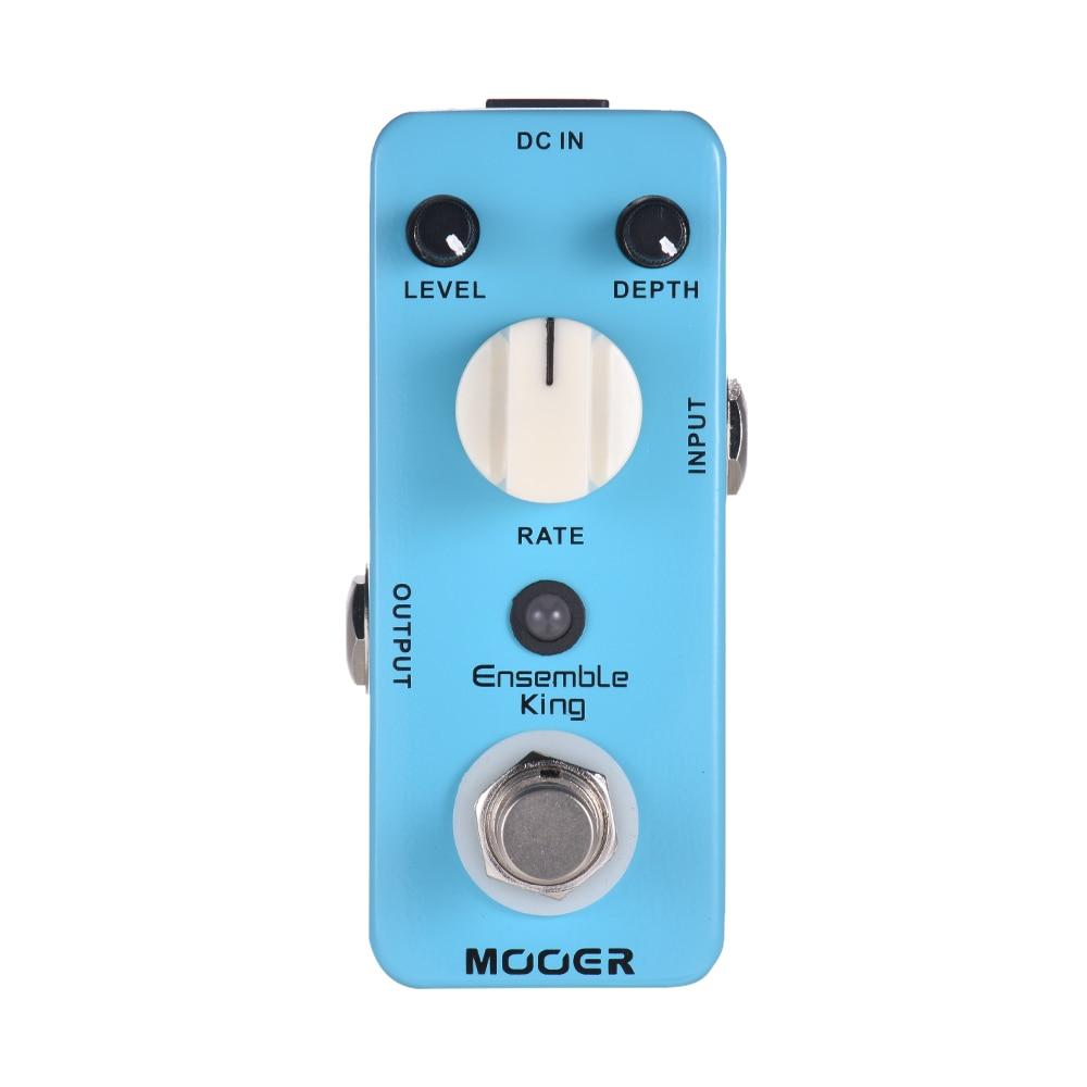 MOOER Ensemble King Analog Chorus Guitar Effect Pedal True
