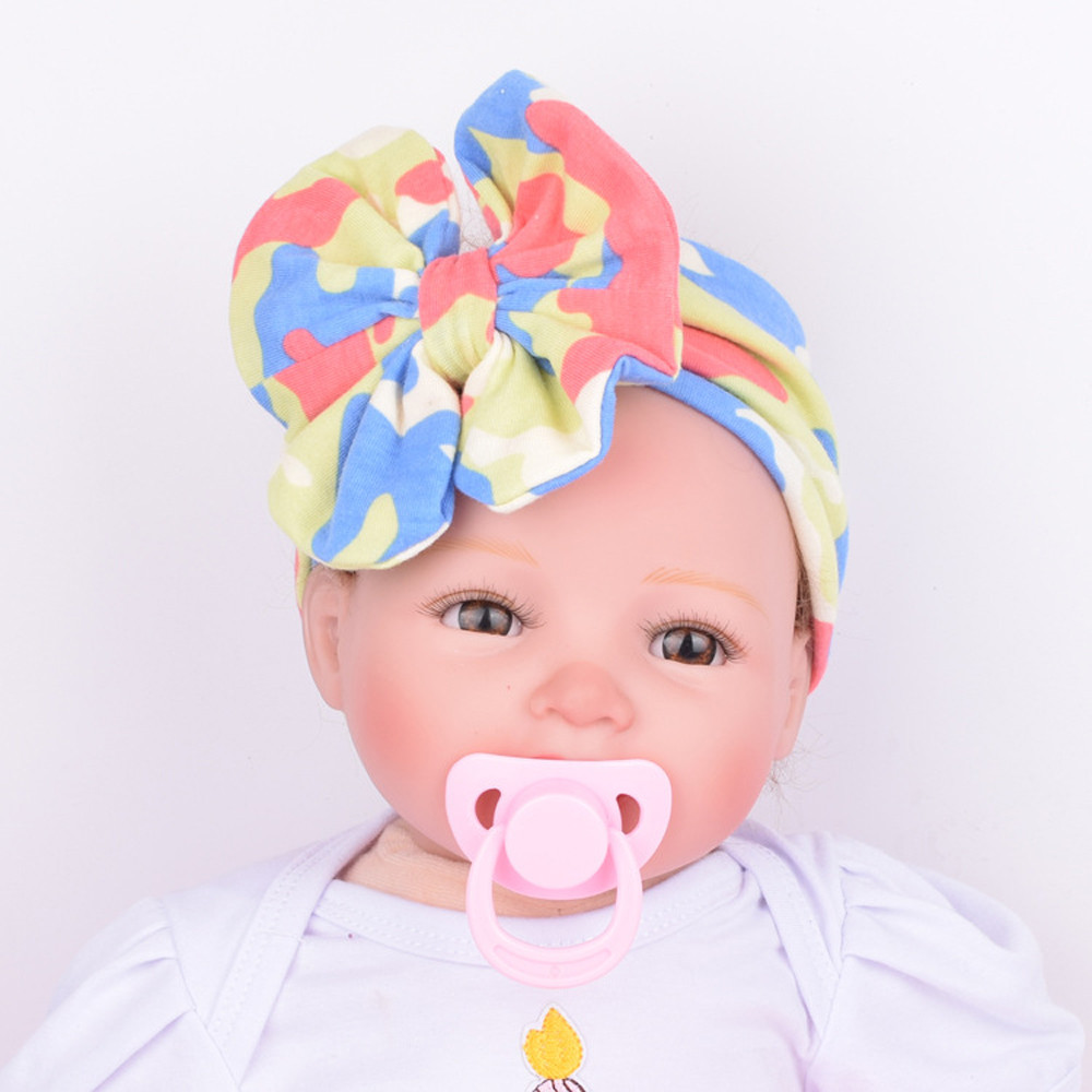 Newest Baby Infant Kids Girls headband Bowknot Hairband Turban Bowknot Headwrap Hairband for girl hair accessories hot sale