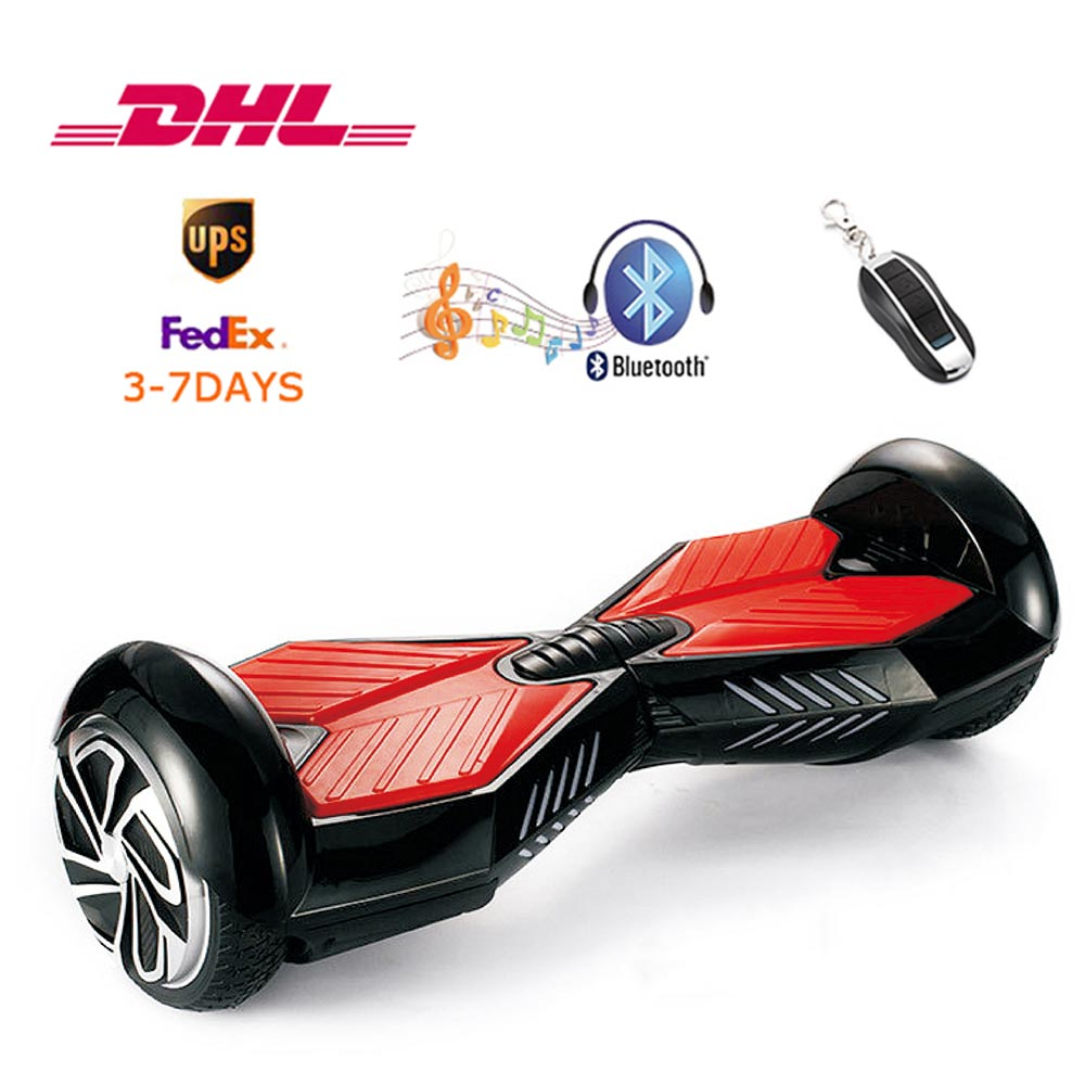 Electric Scooter Smart Self-balance Hover Board Two Wheels Skateboard Sky Walker with UL2272 Bluetooth 3-8 Days of Delivery forex b016 6607