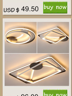 HTB1r.qKX.CF3KVjSZJnq6znHFXa7 NEO Gleam Rectangle Aluminum Modern Led ceiling lights for living room bedroom AC85-265V White/Black Ceiling Lamp Fixtures