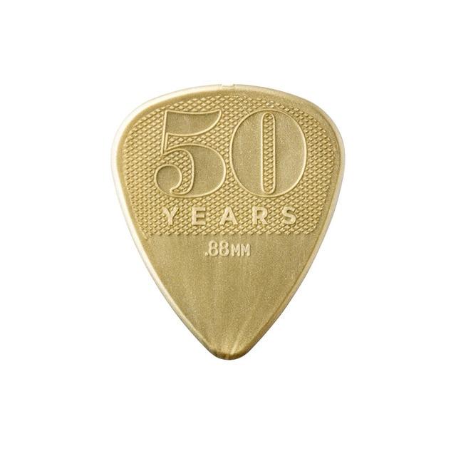 Accesorios para guitarra clásica acústica Púa de Guitarra, de bajos de 50 aniversario, accesorios para guitarra de nylon. Por Unidad