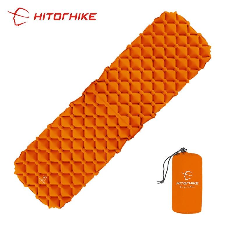 3 Colors Hitorhike Inflatable Sleeping Pad Camping Mat  air mattress Cushion Sleeping Bag air sofas inflatable sofa