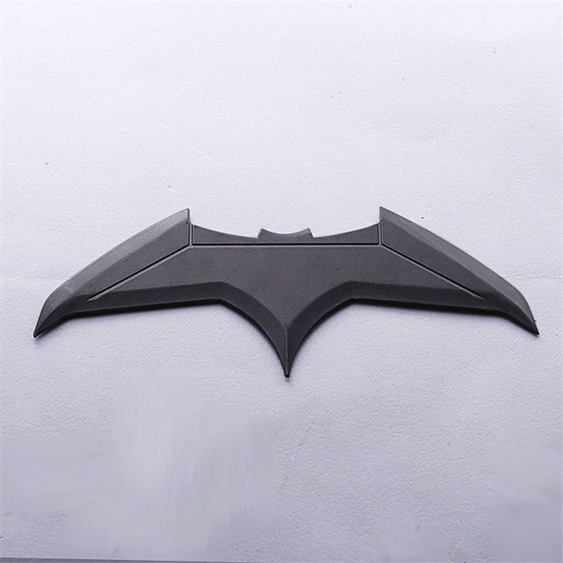 Justice League Cosplay Darts Batman Bruce Wayne Batarangs Metal Props Movie Superhero Accessories Halloween Gift Adult One Size