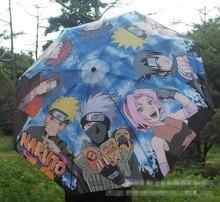 Guarda chuva naruto uzumaki, guarda chuva estampado com uchiha sasuke e hatake kakashi, acessórios para cosplay de presente