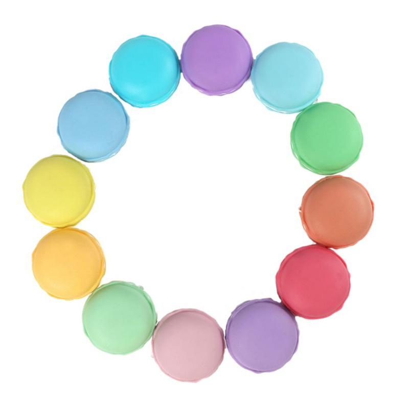 Fashion Clay Baby Toys DIY Creative Clay 12 Color Macarons Crystal Clay Mud Toys 12Pcs/Box Suitable For Your Kids To Play