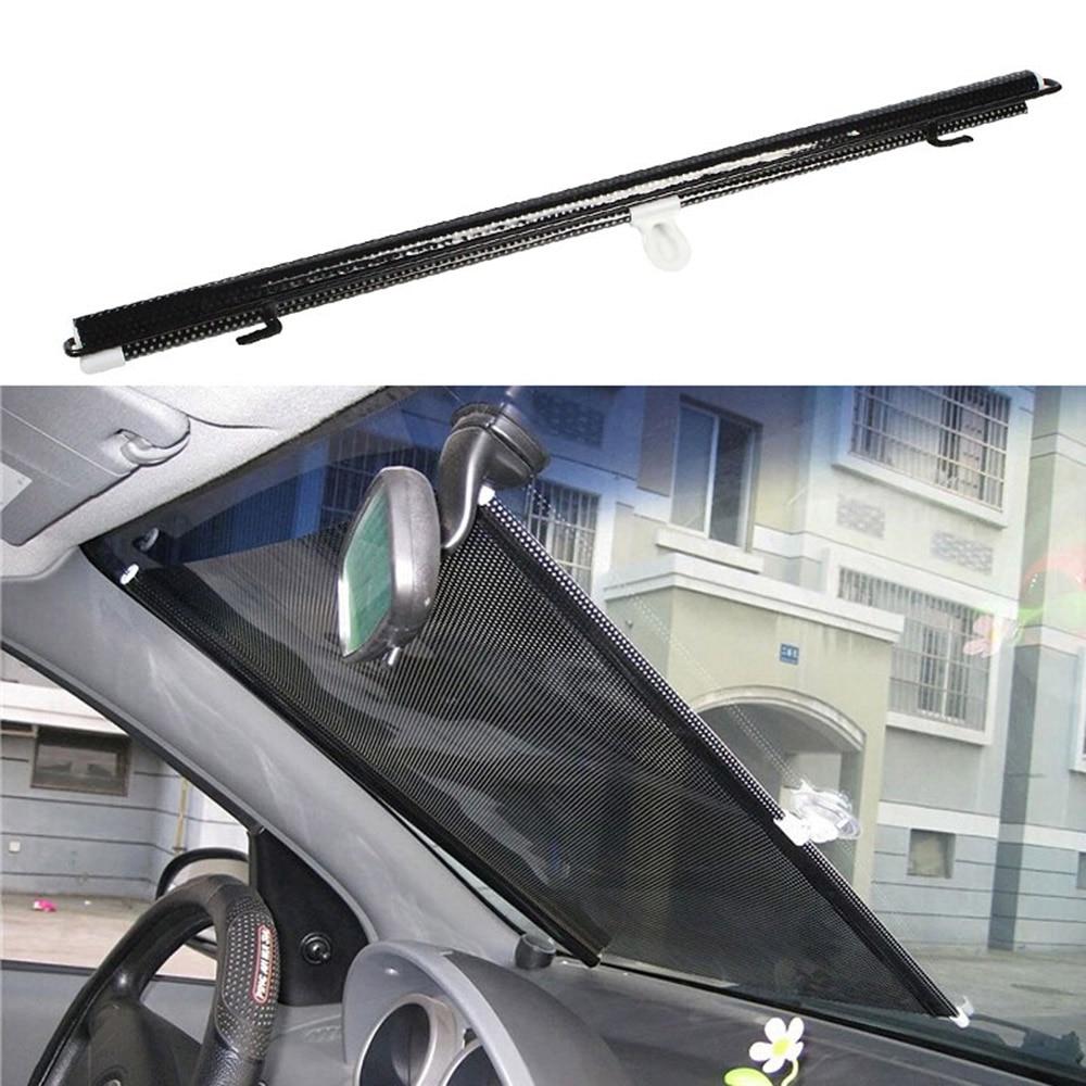 Universal 50x125CM Film Car Sun Shade Window Curtain Blind