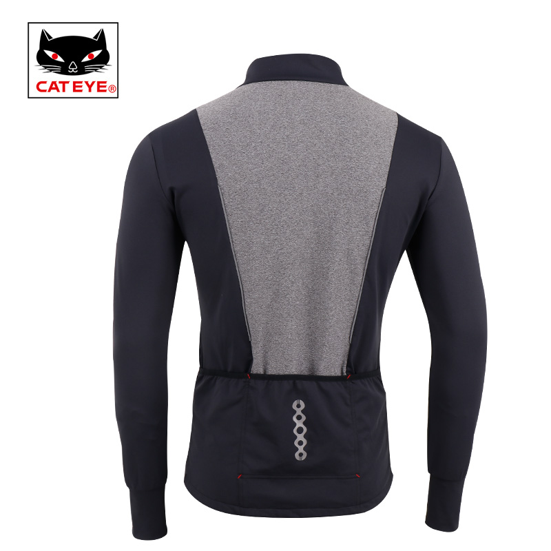 72733d13d CATEYE Cycling Jersey MTB Winter Long Sleeve Bike Bicycle Clothing  Breathable Stretchable Quick Dry Maillot Vel Cycling Clothing-in Cycling  Jerseys from ...