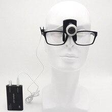 дный светодиодный головной свет с зажимом на зажиме Регулируемая яркость операции фары клип зубные медицинские фары