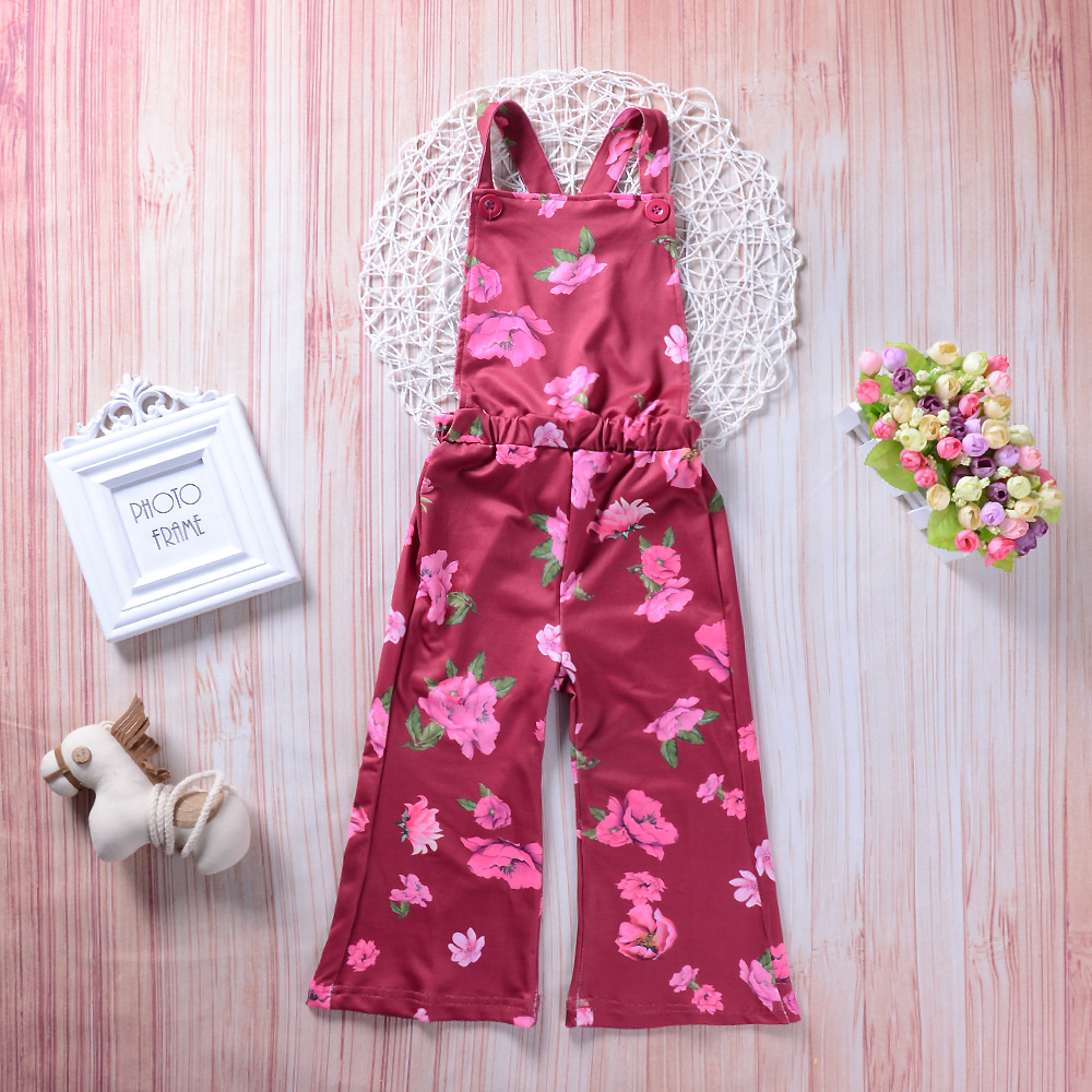 Mutter & Kinder Floral Infant Mädchen Overalls Für Kinder 2018 Neue Sommer Babyoverall Spielanzug Kostüm Insgesamt Baumwolle Kinder Kleidung 3ov020 Mädchen Kleidung