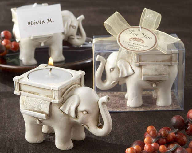 Retro Elephant Tea Light Candle Holder Candlestick Wedding Home Decor Crafts tea light holders owl tealight holder