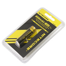 Nitecore NL147 14500 750mAh High drain battery nitecore Li-ion with button top for flashlight(1pc)
