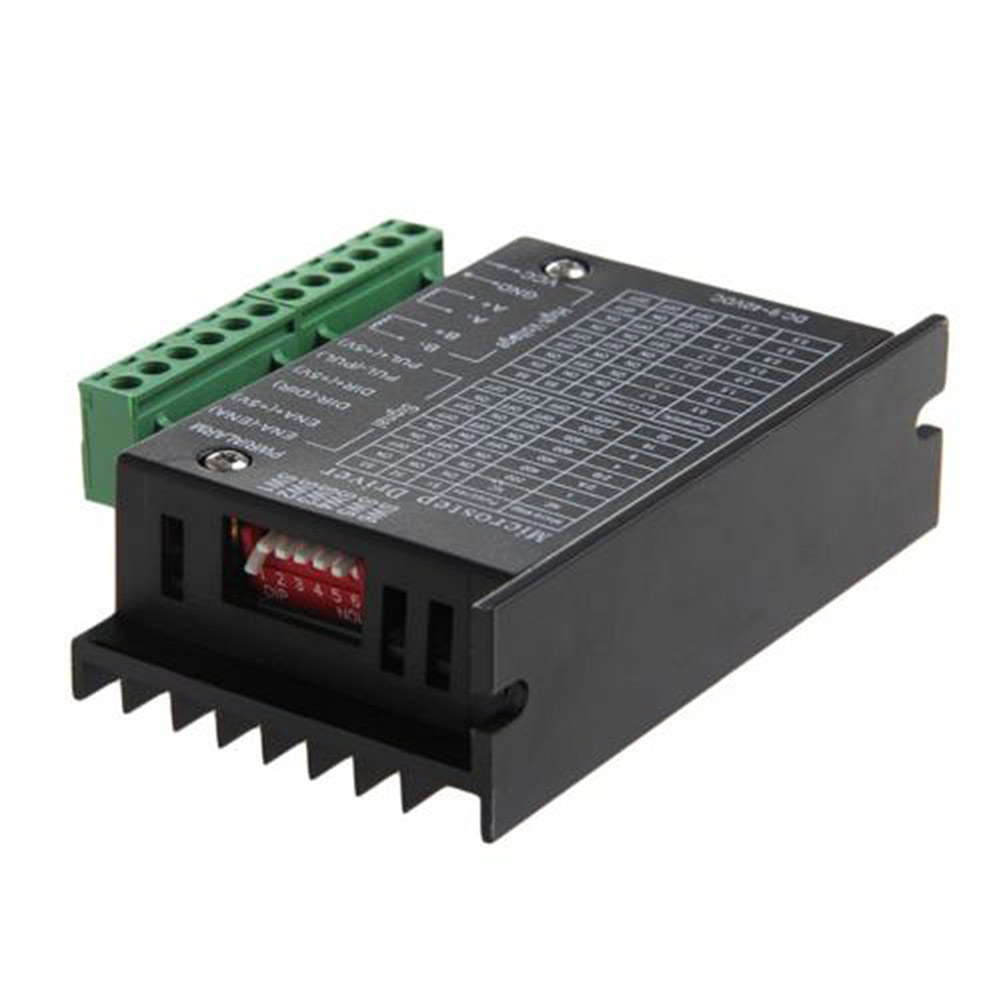 6600 Single Axis 4A Stepper Motor Driver Controller 9~40V Micro-Step CNC @8 JDH99 4a integrated stepper motor controller pc control single axis 42 57 stepping motor driver cnc