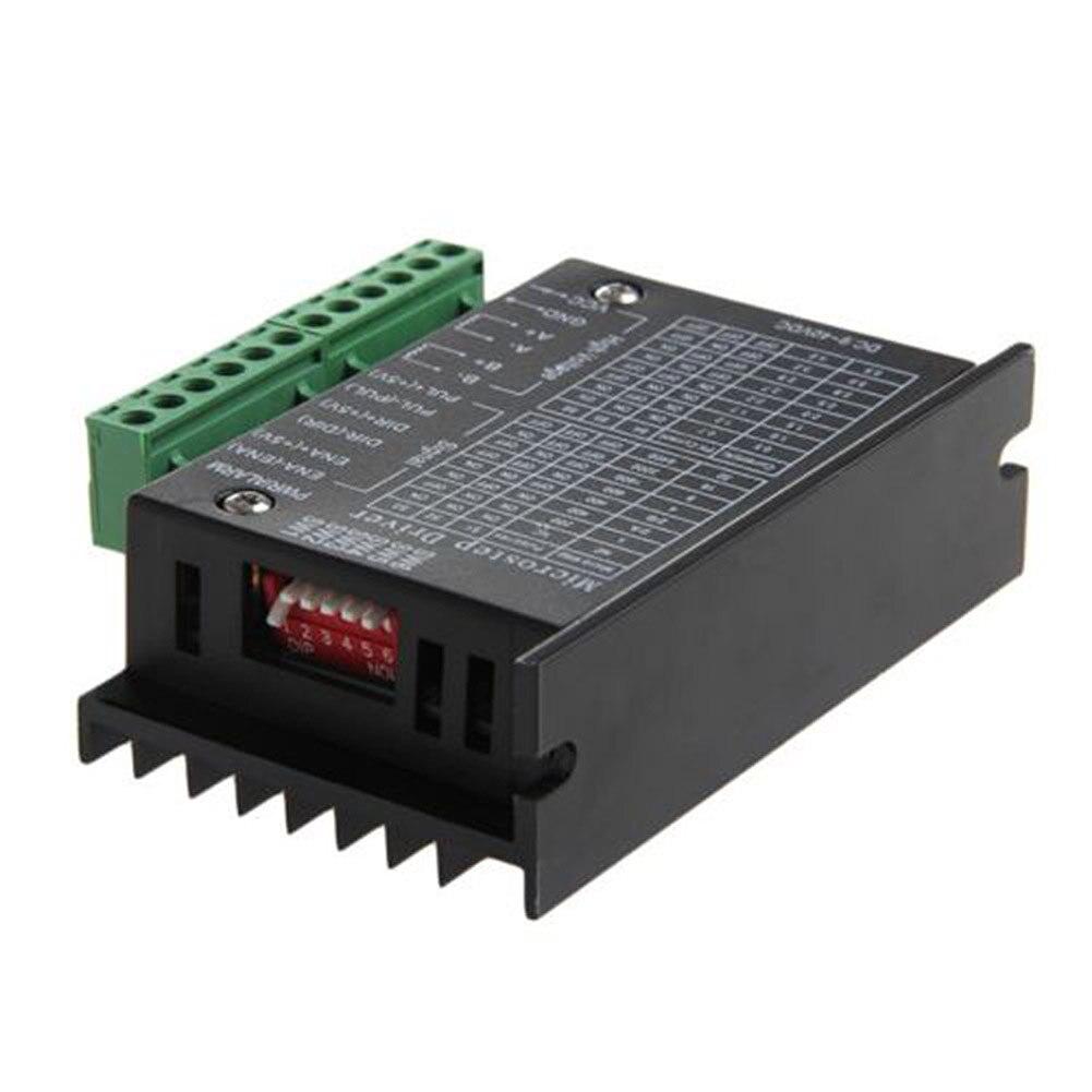 6600 Single Axis 4A Stepper Motor Driver Controller 9~40V Micro-Step CNC @8 JDH99