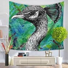 Printed Home Decor Animal Tapestry Wall Hanging Tapestry Beach Throw Towel Picnic Blanket Pad недорго, оригинальная цена
