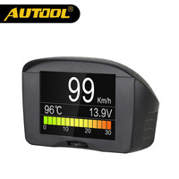 AUTOOL X50 Plus Multifunktions Auto OBD Intelligente Digitale Meter Alarm Wassertemperaturanzeige Digital Voltage Speed Meter-anzeige