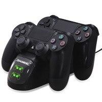 PS4 Controller Dual USB di Ricarica del Caricatore Docking Station per PS4/PS4 Slim/PS4 Controller Pro