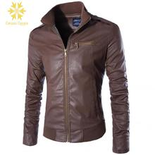 NEW Men Motorcycle Jacket PU Leather moto Suits Armor Riding Protect M - 3XL Size Black Brown Coffee Mens Pu Jackets and Coats