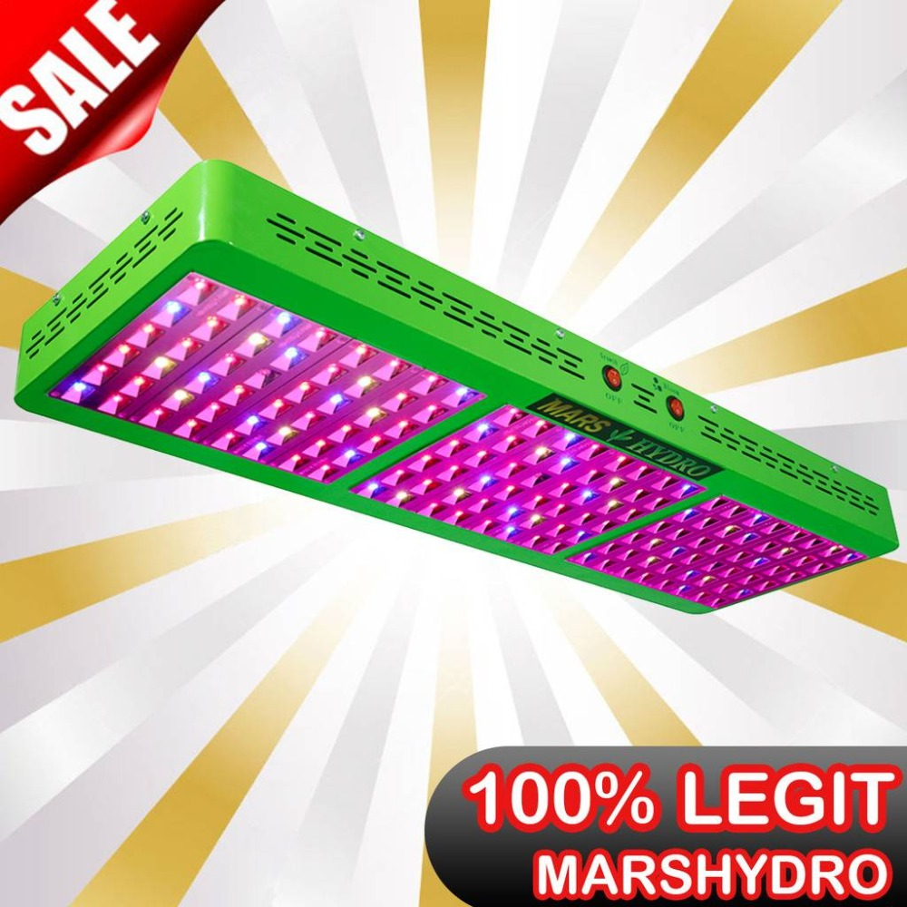 Mars Hydro Reflector 720W LED Grow Light Full Spectrum Switchable Growth  Bloom for Hydroponic Grow Tents