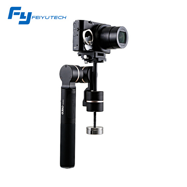 In stock !Hot New Feiyu Tech G360 Handheld Camera Gimbal 360 For smartPhone and Gorpo camera Easy to shoot movies or Record yuneec q500 typhoon quadcopter handheld cgo steadygrip gimbal black