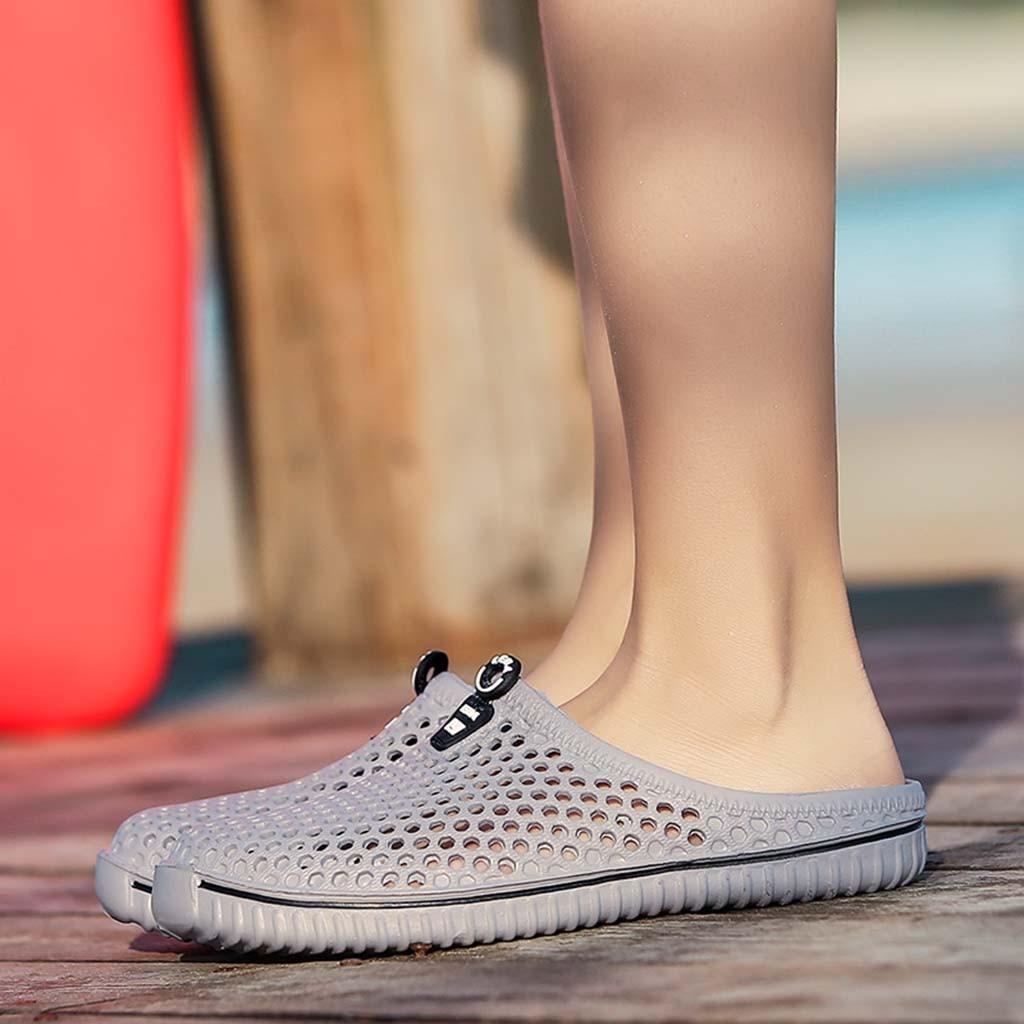 Hollow Out Mans Footwear Slipper Unisex Women Couple Holes Summer Beach Sandal Breathable Flip Flops Shoes Chaussure Homme