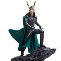 Marvel Super Hero Film Thor Ragnarok The Avengers Loki Laufeyson Odinson 25cm Iron Studios Figure Figurine Toys anime figure
