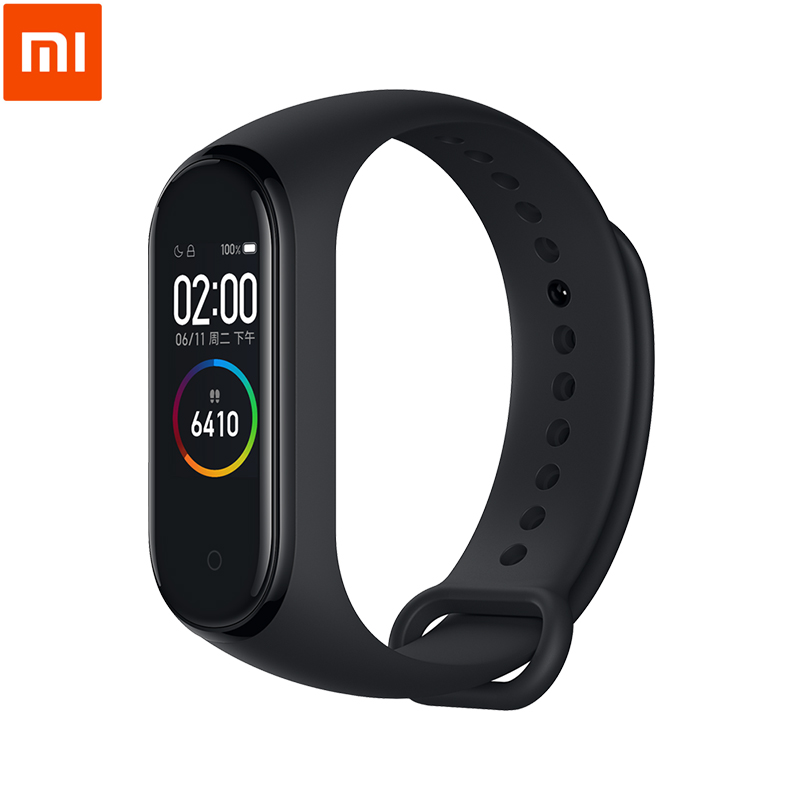 Фитнес-браслет Xiaomi Mi Band 4 Bluetooth 5.0, полноцветный AMOLED экран 0,95 дюйма 120X240, водонепроницаемость 50 м
