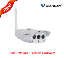 VStarcam C7816WIP IP Camera wifi Webcam CCTV Outdoor Wireless security camera Waterproof IP67 20M IR range support 128G SD Card