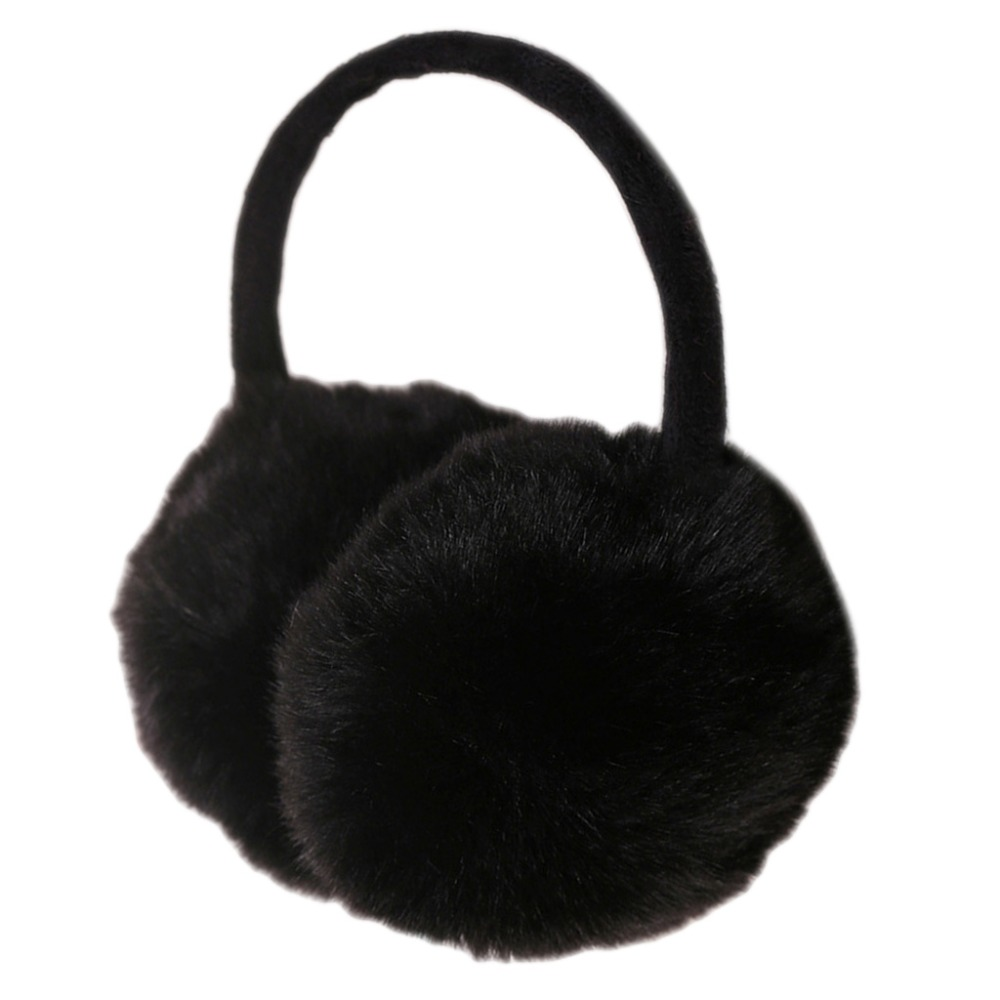 2019 Winter Earmuff Imitation Rabbit Women Fur Earmuffs Ear Warmers Large Plush