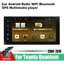 ZaiXi Android Car GPS Multimedia Player For Toyota Quantum 2004~2019 car Navigation radio Video Audio Car Player WiFi Bluetooth zaixi android car gps multimedia player for toyota fj cruiser 2006 2018 car navigation radio video audio car player bluetooth