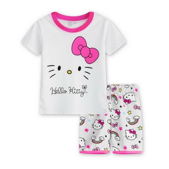 a4ff1368ff3a 2018 Boy Pajamas Kids Summer Clothing Children Underwear Cartoon ...