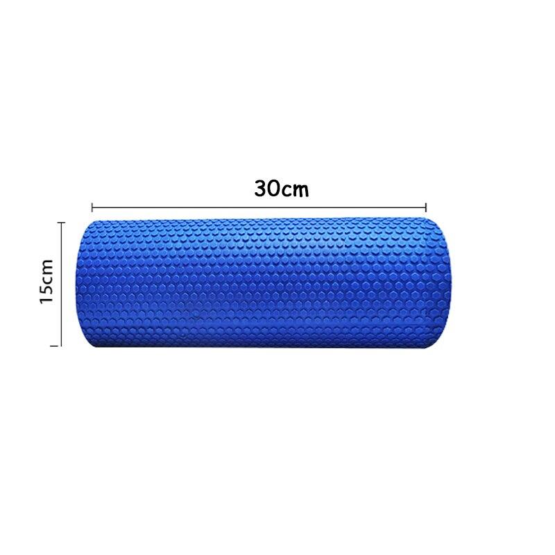 New Arrival High Quality High Density Floating Point EVA Yoga Pilates Fitness Gym Foam Roller Massage Blue 410050 single sided blue ccs foam pad by presta