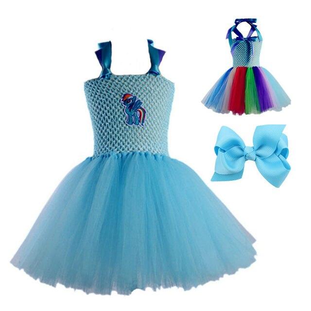 Online Shop Prom Dress My Baby Girl Tutu Dress Girl Little Pony ...