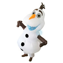 New Olaf Snowman Inflatable Costume Adult Size Top Seller