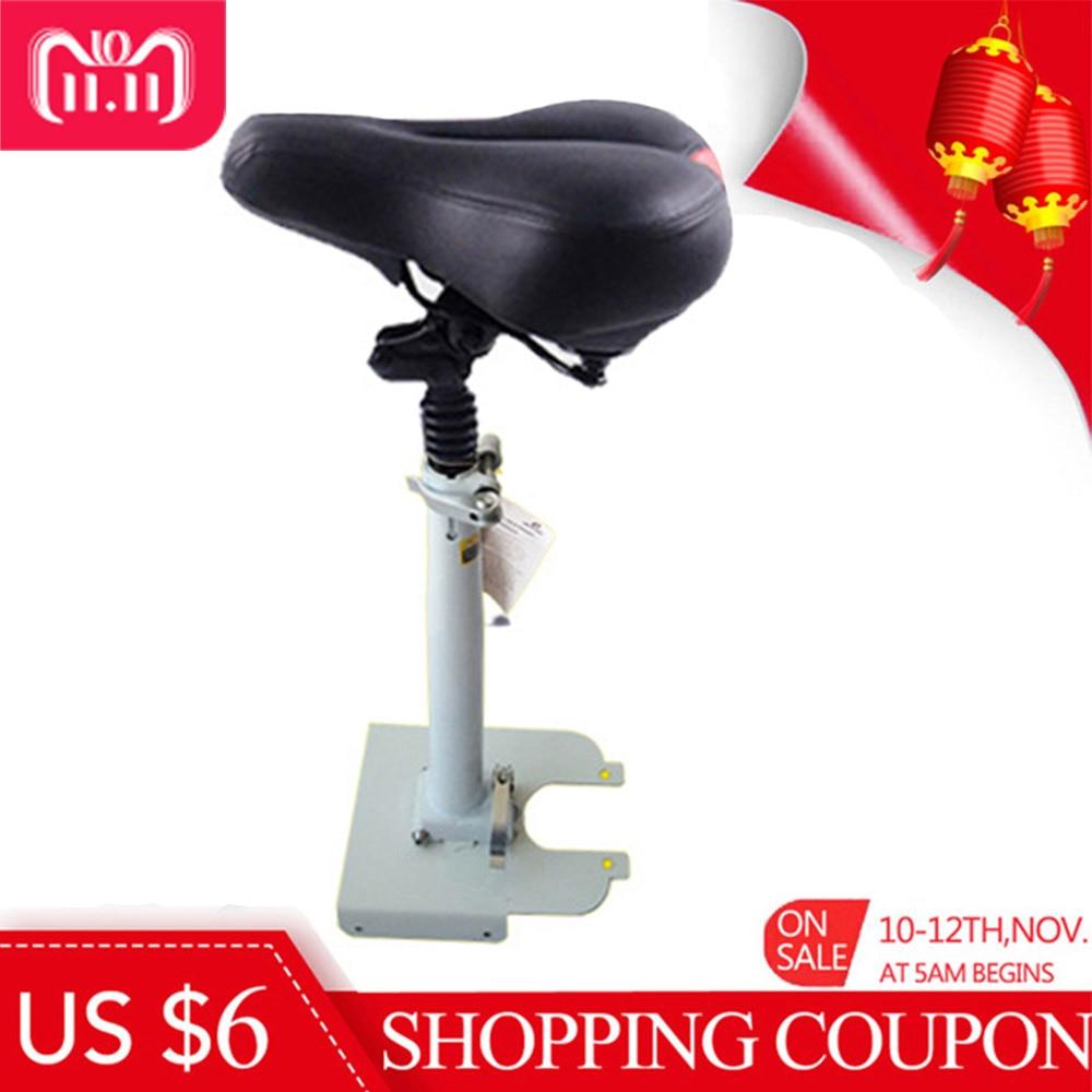 Scooter elettrico del Sedile per Xiaomi M365 Scooter Elettrico Antiurto per Esterni Regolabile Staccabile Cuscino Assorbimento Degli Urti Sedile