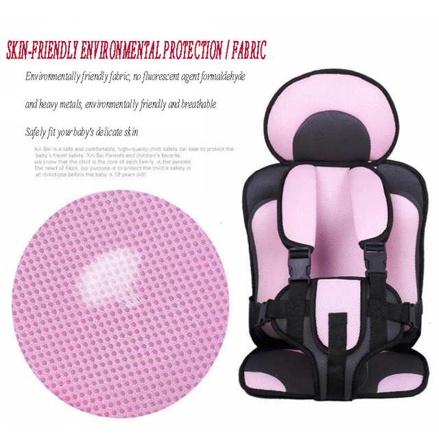 Safety Portable Toddler Car Seat Bag Chair Pection Booster Portable Infant Feeding Chair Adjustable