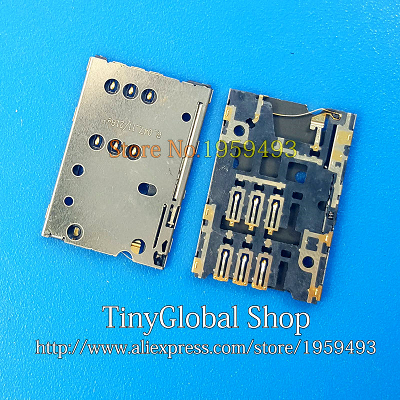 XGE New Sim Card Reader Holder Tray Slot Socket Connector Replacement For Nokia N8 C7 C700 Top Quality