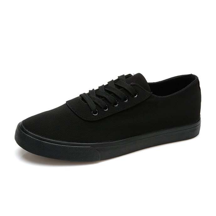 aliexpress buy all black canvas shoes 2016 luxury
