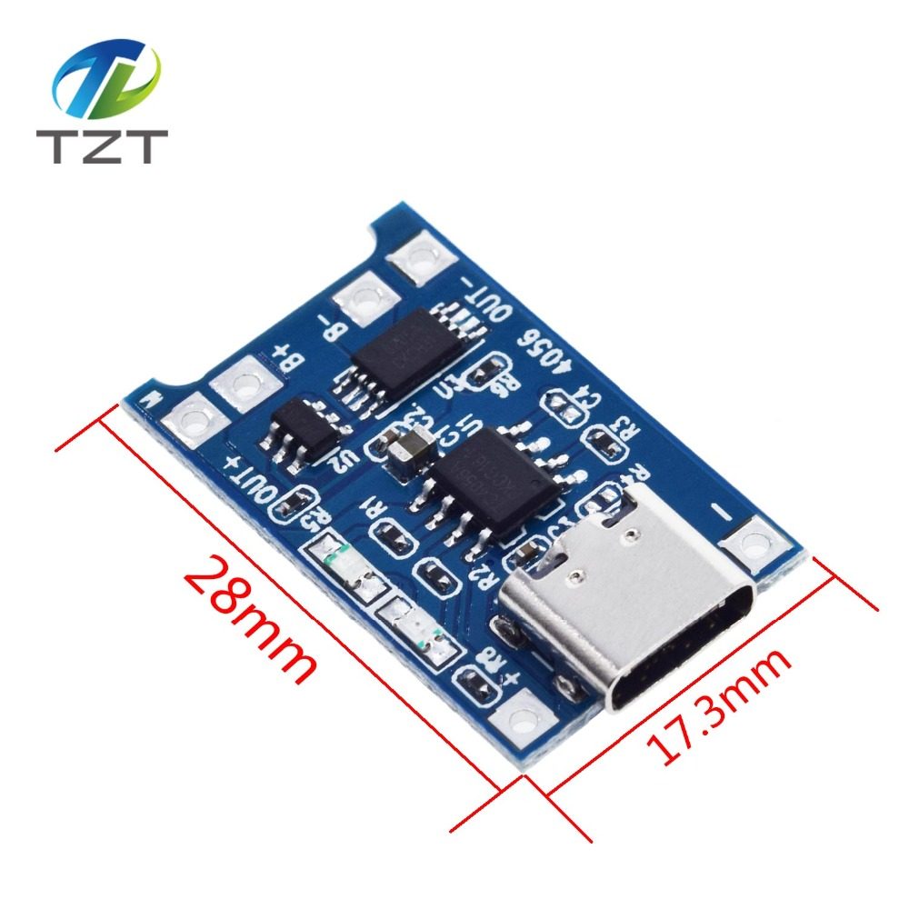 Image 4 - 10Pcs Micro USB 5V 1A 18650 TP4056 Lithium Battery Charger Module Charging Board With Protection Dual Functions 1A Li ion-in Integrated Circuits from Electronic Components & Supplies