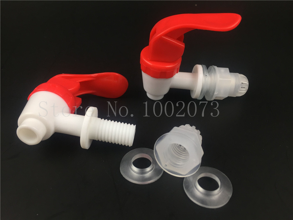2pc/lot HIGH QUALITY 12mm Bottling Bucket Plastic Water Tap Homebrew Beer Faucet Bottling Carboy Spigot FREE SHIPPING