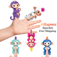 Fingerlings Interactive Baby Monkeys Smart Colorful FingersLlings Smart Induction Toys Best Gifts For Kids 6