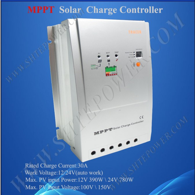 EPsolar Tracer3215RN 30A 12v 24v mppt dc voltage charge regulator for solar panel systemEPsolar Tracer3215RN 30A 12v 24v mppt dc voltage charge regulator for solar panel system