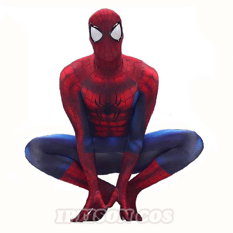The <font><b>Amazing</b></font> Spider-Man 2 Adult / <font><b>Teen</b></font> Costume Marvel Superhero Zentai Suit Disguise Custom Made <font><b>Spiderman</b></font> Cosplay Costume S-XXL