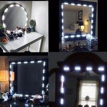 Косметическое зеркало для макияжа затемняемый 60 Светодиодный s 9.8FT DIY светодиодный Make-up Light Комплект 2800LM для косметические зеркала /Кухня с удаленным