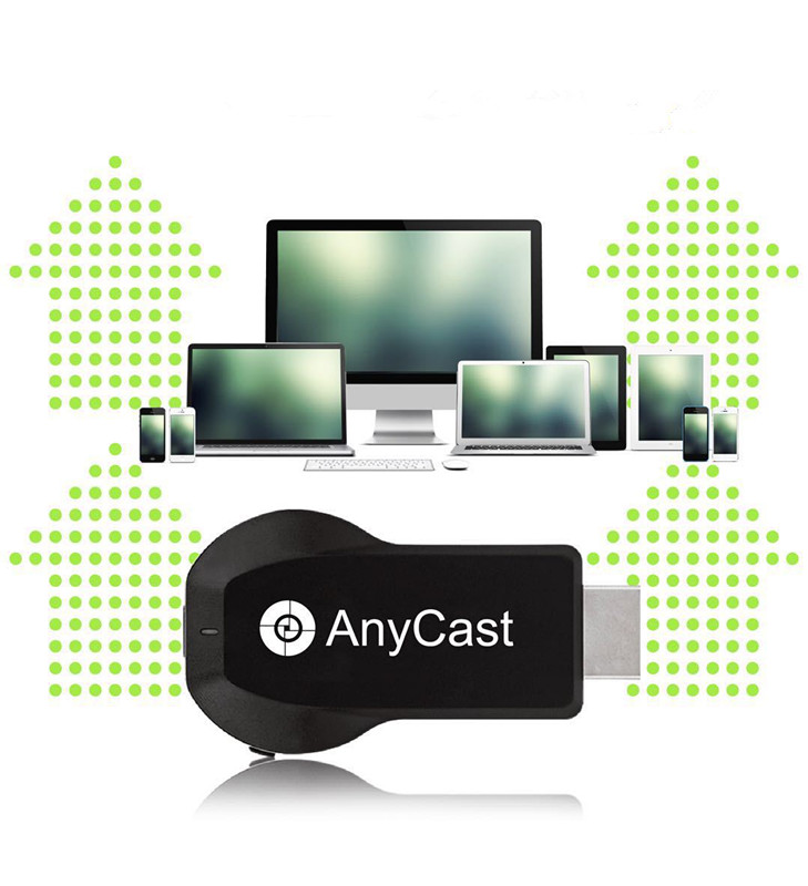 2.4g 4 k H.265 HDMI Miracast DLNA Airplay Anycast TV Bâton WiFi Affichage Récepteur Dongle Soutien Windows Andriod TVSM100